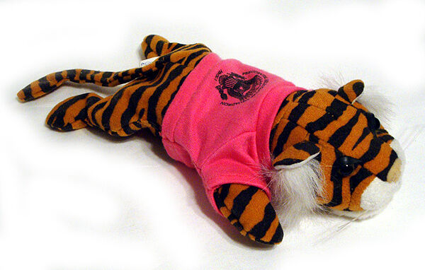 President Bill Clinton HMX-1 Marine One Presidential Tiger Beanie Babies RARE