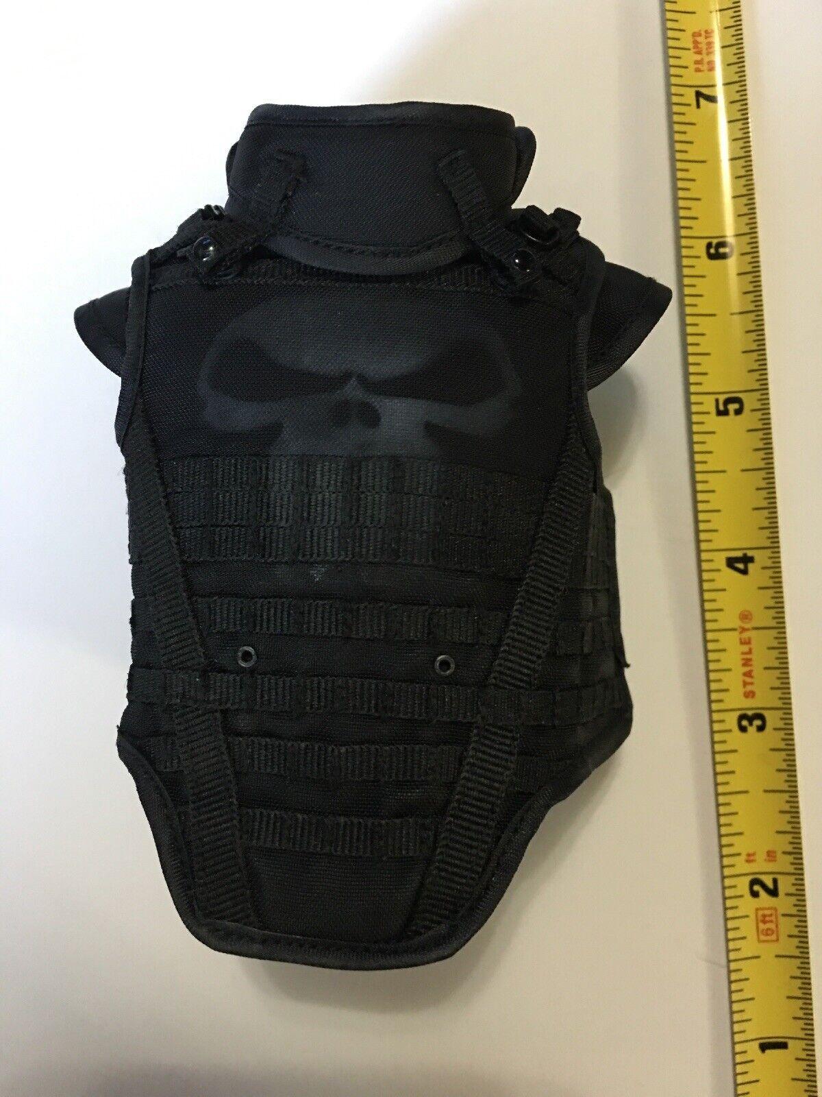 16 Scale Punisher War Zone Bulletproof Vest Flack Jacket