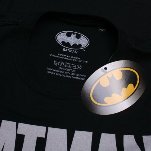 DC Comics T-shirt Black Boys Batman Skyline
