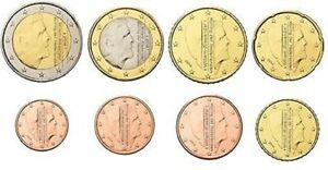 NEDERLAND-UNC-EURO-SET-2017-VIERDE-WILLEM-ALEXANDER-SET-serie-1-cent-t-m-2-euro