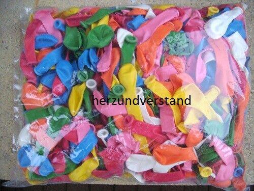 14 cm Durchm. 1000 Luftballons Ballons Globos birnenförmig ca.42 cm Umfang ca