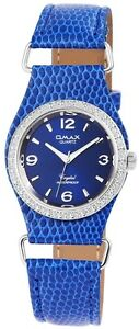 Damenuhr-Blau-Gold-Schwarz-Analog-Metall-Leder-Armbanduhr-Quarz-D-60463612486600