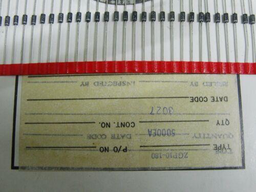 50 GI ZGP10-180B 180v 1.5W DO41 diodos Zener