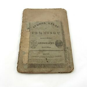 Antique-School-Atlas-to-Cummings-039-Ancient-and-Modern-Geography-4th-Edition-1817