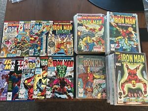 Iron Man (Marvel, 1983) - 192 Book Lot #'s 64-286, Annuals -F/VF to NM