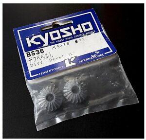 Vintage-RC-KYOSHO-BS36-DIFF-BEVEL-Turbo-Burns-Inferno-Landmax-USA-1-Nitro-Oldstk
