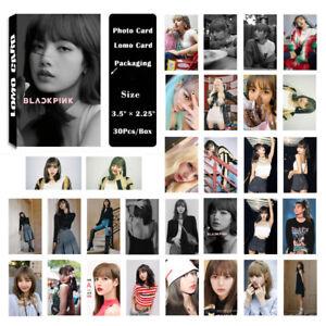 1Box-30PCS-KPOP-BLACKPINK-LISA-Album-PhotoCard-Lomo-Card-Poster-Photo-card