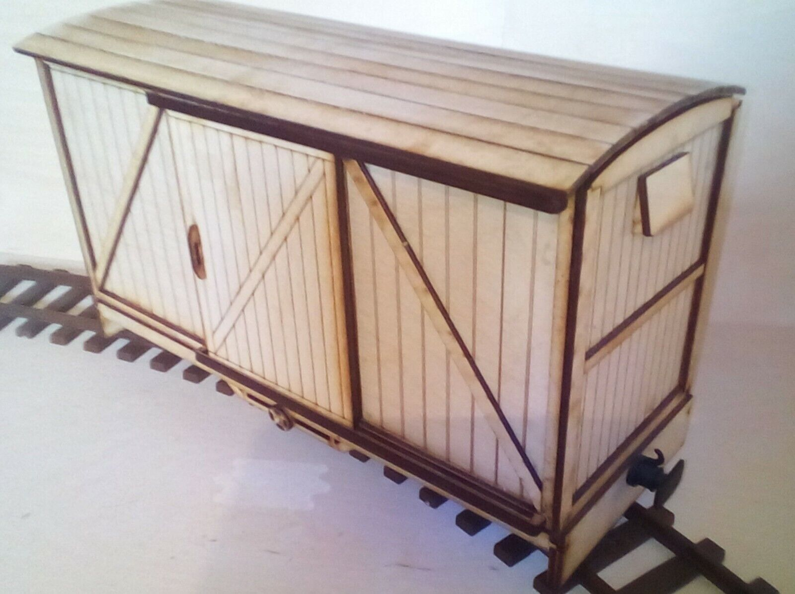 SEVEN EIGHTH SCALE BOGIE BOX VAN