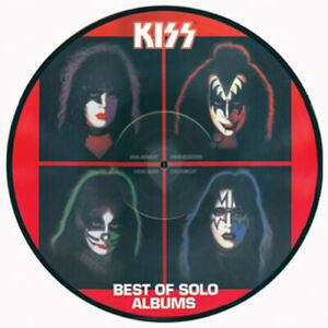 KISS PICTURE DISC - BEST OF SOLO ALBUMS -GERMANY 2003- KISS MERCHANDISE -L629807