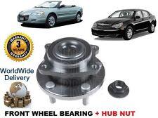 FOR CHRYSLER SEBRING 2007-->NEW FRONT WHEEL BEARING HUB KIT ABS + NUT 5085406 AC