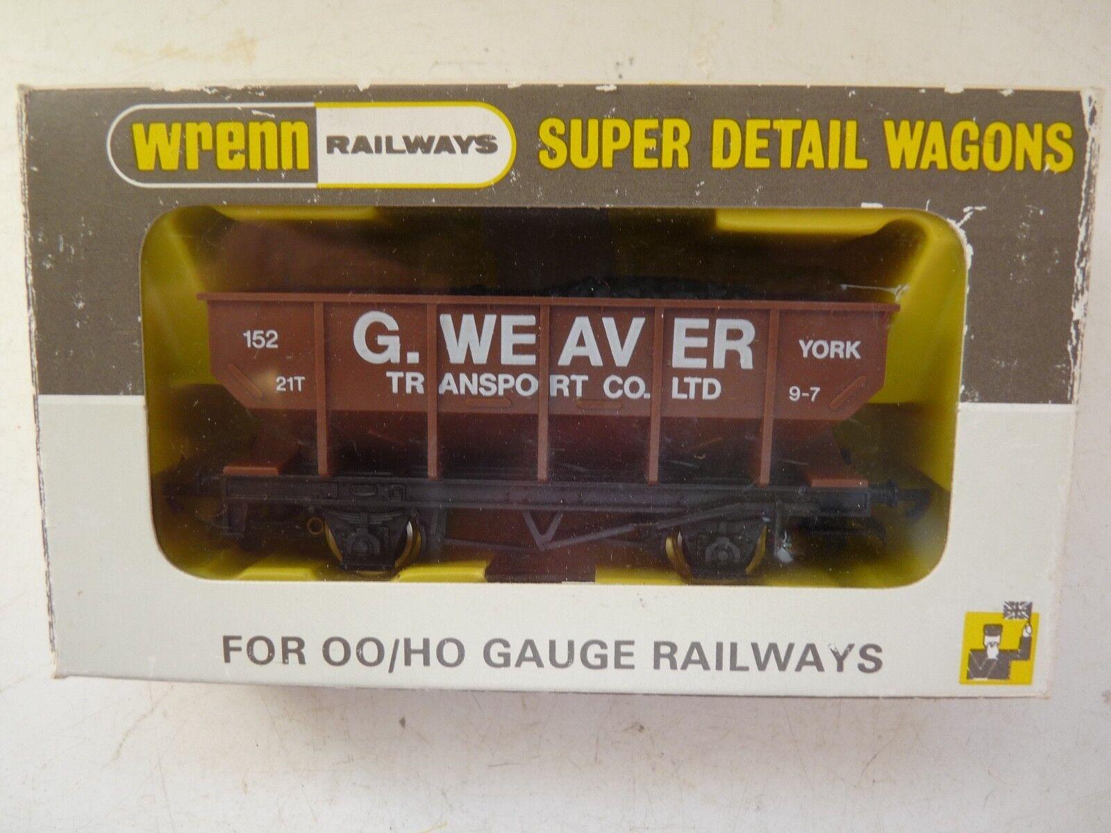 WRENN W.5502 'WEAVER TRANSPORT' 21 TON YORK MINT BOXED