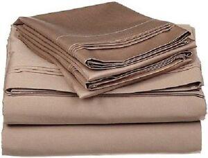 Fadenzahl 500 183 X 213 Cm Einh Einlagiges Bettlakenset Superior Baumwolle