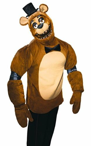 Rubies Five Nights At Freddy/'s Game Movie Adult Mens Halloween Costume 820250