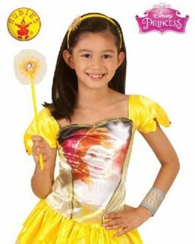 Disney PRINCESS Belle Costume TOP CHILD Size 3 to 5 Halloween Dress Up