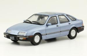 Ford Sierra Ghia 2.3 1984 Rare silverina Diecast Scale 1 43 New + Magazine