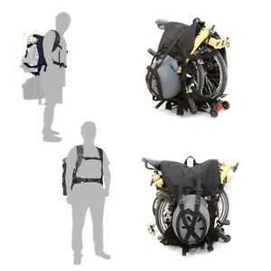 Image Is Loading Brompton Lifting Backpack For Bicycle Transport Bike Bag