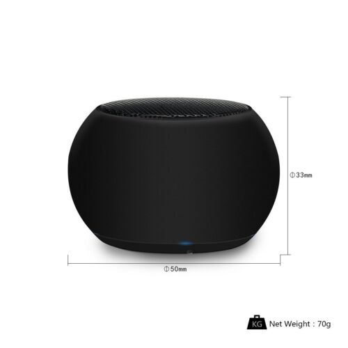 3W Audio Stereo Mini Drum Type Portable Wireless Bluetooth Speaker 2.0 TWS