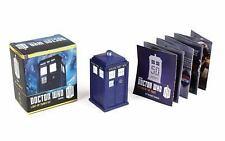 Doctor Who: Light-Up Tardis Kit by Richard Dinnick Hardcover Book (English) NIB