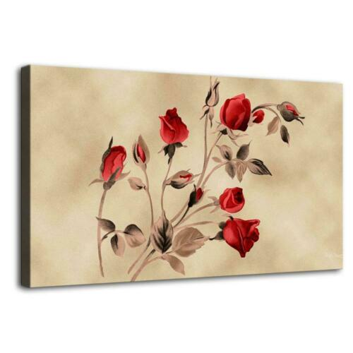 "12/""x20/""Red Rose Happy Day Home Decor Picture HD Canvas prints Wall art Painting"