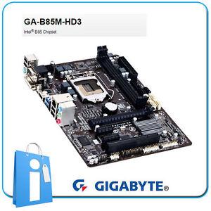 Placa-base-mATX-B85-GIGABYTE-GA-B85M-HD3-Socket-1150-sin-Accesorios-ni-Chapa-ATX