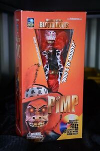Full Moon Blood Dolls Pimp 12 Inch Doll Figure