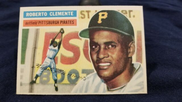 1956 Topps Roberto Clemente Pittsburgh Pirates 33 Baseball Card