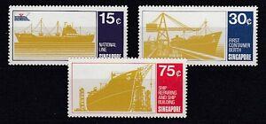 Ships Singapore 126 - 28 (MNH)