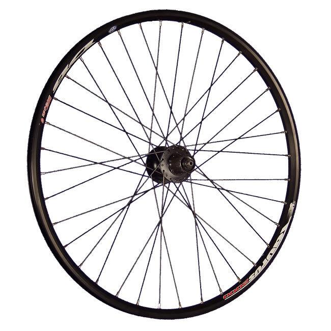 Taylor Wheels fietswiel 26 inch achterwiel Taurus Shimano FHM475 Discnaaf zwart