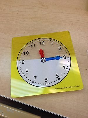 Clocks- for use on the overhead if needed- set of 5- 60% off retail
