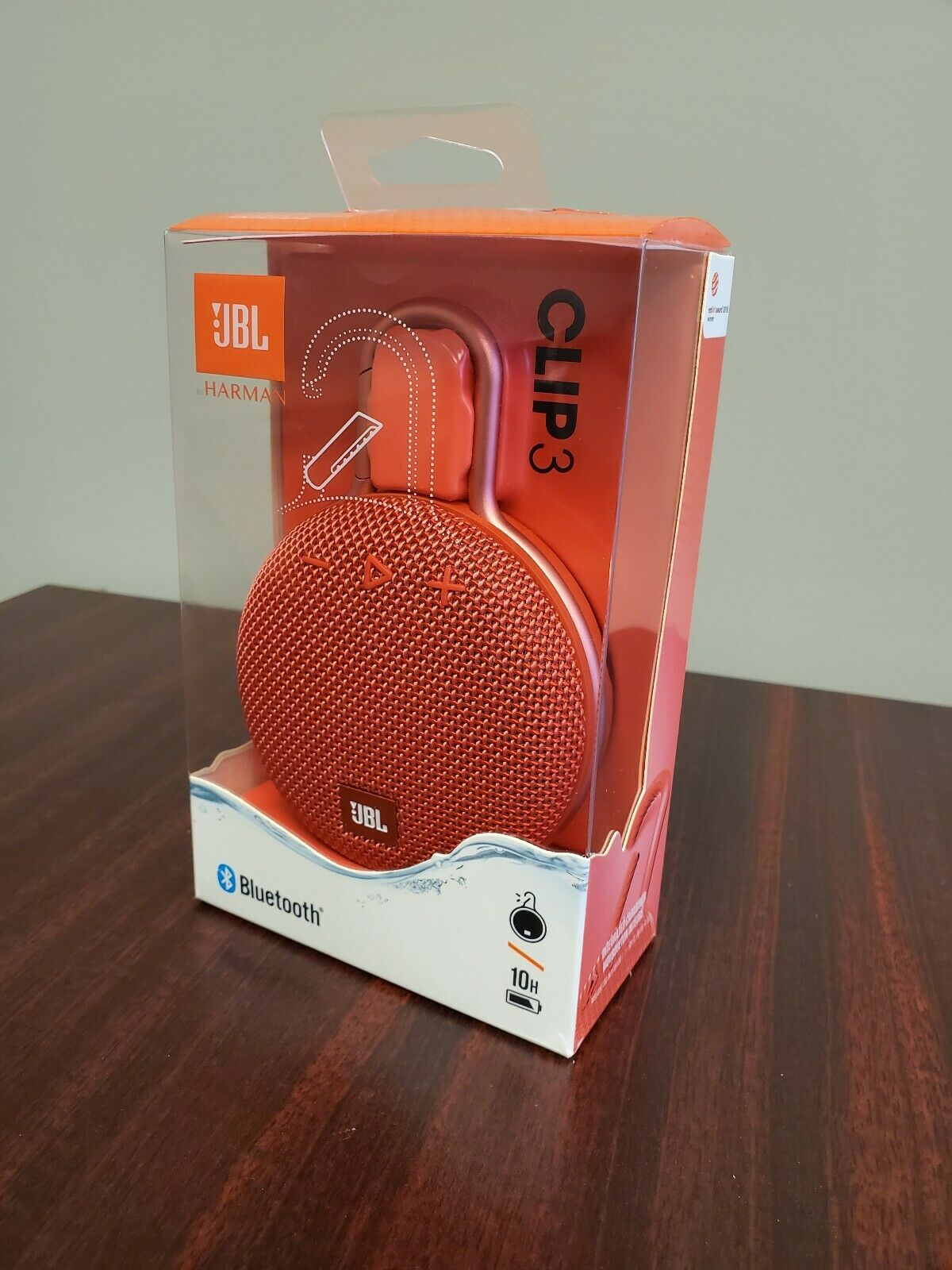 Jbl Clip 3 Rechargeable Waterproof Portable Bluetooth Speaker Wireless And Portable Speakers