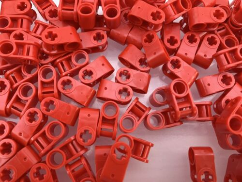 LEGO 6536 40136 NEW Red Technic Axle Pin Perpendicular Connectors 10 Pieces