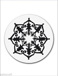 CArt-Us-Clear-Rubber-Stamp-petits-ornements-Fleur-001883-1113-reduit