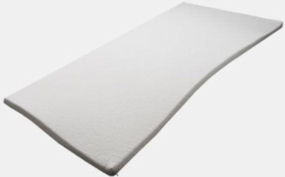 Matratzenauflage Topper Visco Schaumstoff 100x200x5cm mit Medipur Glatt Härte 3