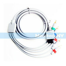New! High Definition HD Component Audio Video AV Cable for Nintendo Wii / Wii U