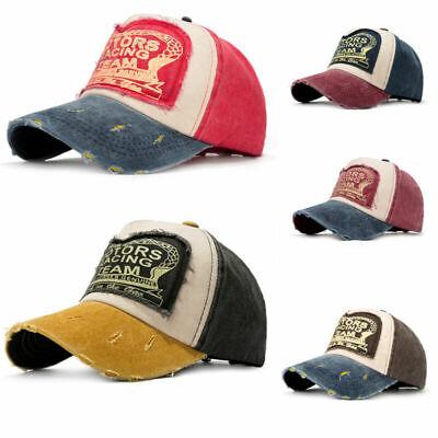 Hot Men Womens Unisex Snapback Adjustable Sport Trucker Baseball Cap Hip Hop Hat