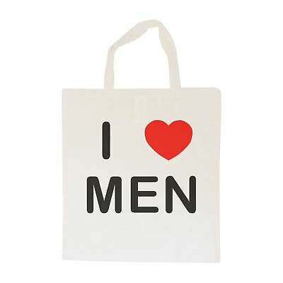 I Love Men - Cotton Bag | Size choice Tote, Shopper or Sling
