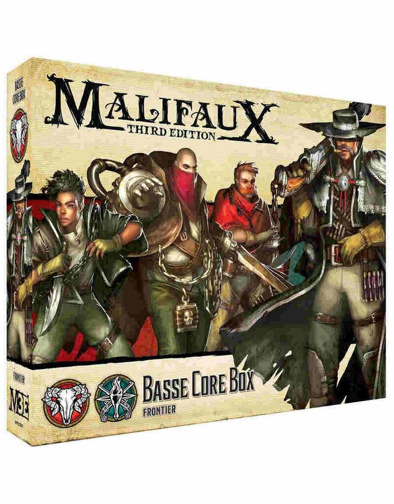 Malifaux M3E Basse Core  Box plastic Wyrd miniatures 32 mm nouveau  bon prix