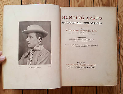 Hunting Camps in Wood & Wilderness, Hesketh Prichard 1910, Eskimos North Canada