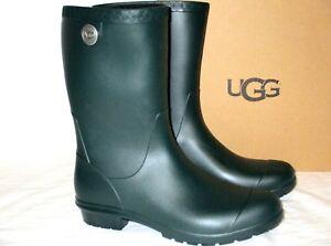 a2d08115f984 NEW WOMENS 7 OLIVE GREEN UGG SIENNA MATTE 1100510 RAIN BOOTS RUBBER ...