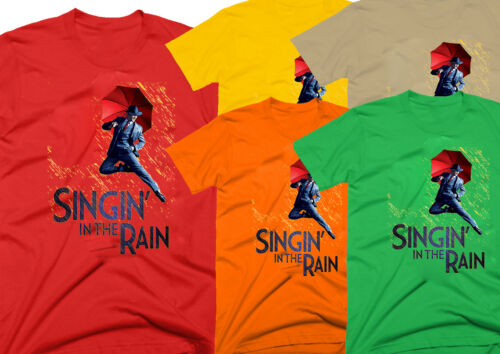homme T-shirt. 100/% coton Singin /'in the rain Film E0799