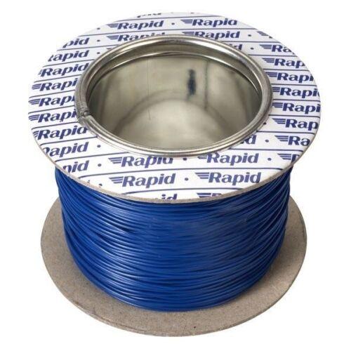 Alambre de equipos rápido GW011505 10//0.1mm Azul 100 M