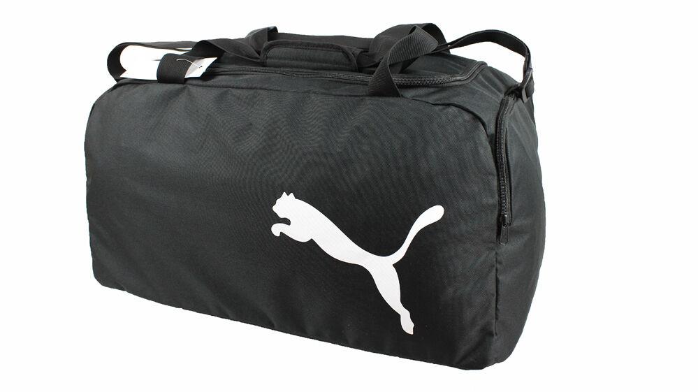 Puma Sporttasche Sporttasche Sporttasche Tasche Reisetasche Fußballtasche schwarz Größe M NEU fe0b22