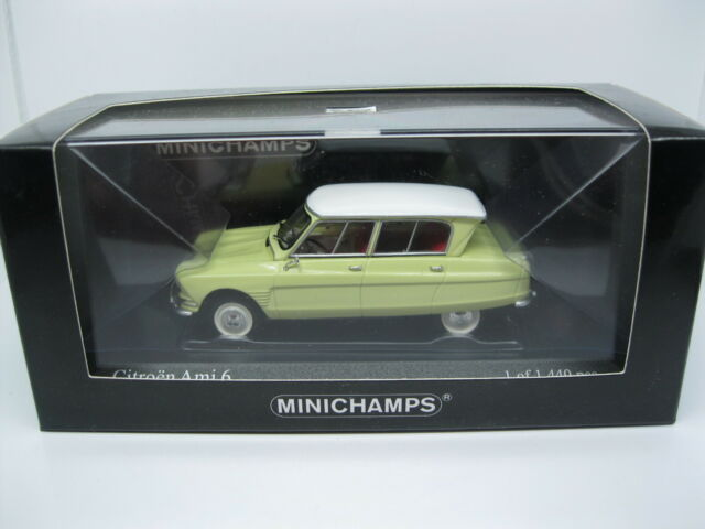 Minichamps Citroen Ami 6 1964 Yellow Limited Edition 400111661