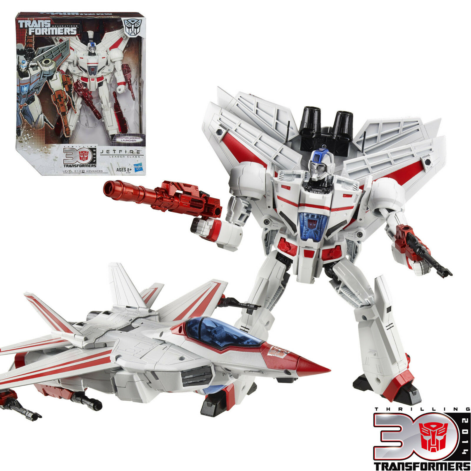 Transformers Generations Thrilling 30 Anniversary Leader Class Jetfire 100% New