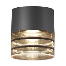 Designer Deckenlampe Momento GU10 anthrazit IP44 Außenleuchte Deckenleuchte