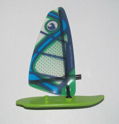 Figurine NEUF Lego City Minifig Cty0758 La planche à voile // windsurfer