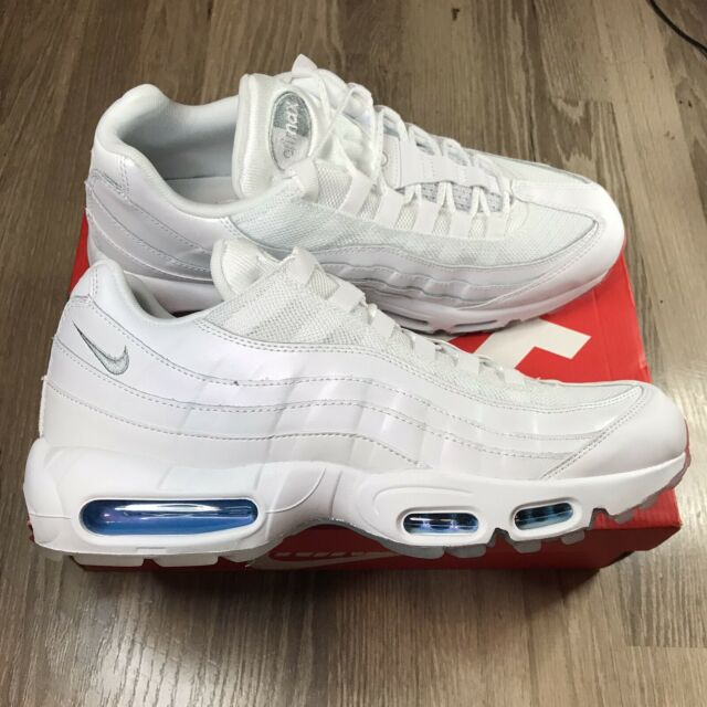 Nike Air Max 95 Shoes 4th Of July Glacier Blue AQ7981-100 White Red Mens  Size 11