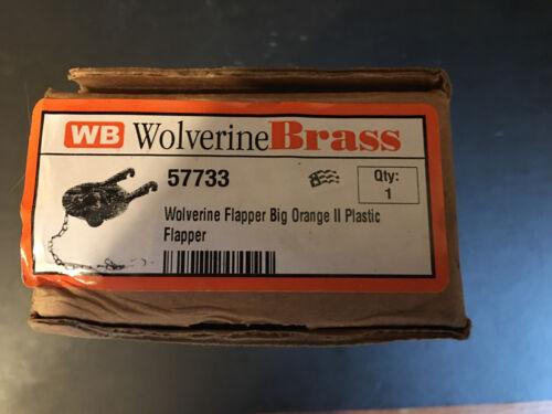 Wolverine Brass Flapper Big Orange II 57733