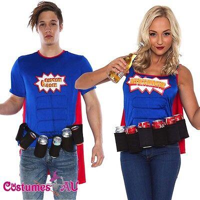 Adult Beer Man Maid Costume Oktoberfest Muscle Superhero Halloween Fancy Dress