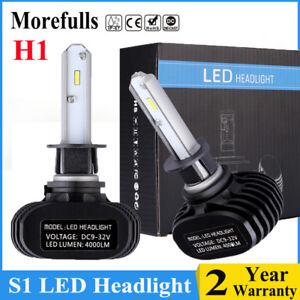 2x h1 philips csp led headlight bulbs conversion kit. Black Bedroom Furniture Sets. Home Design Ideas